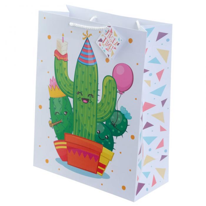 Sac Cadeau Cactus - Large Lulu Shop 2