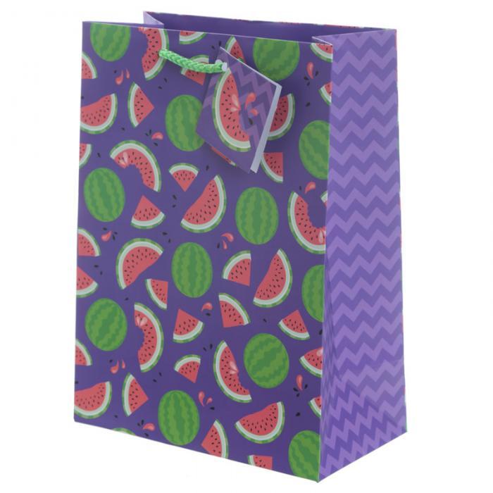 Sac Cadeau Tropical Ananas et Pastèque - Moyen lulu shop 2