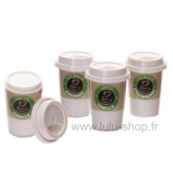 Brillant à Lèvres Gloss Café A Emporter lulu shop