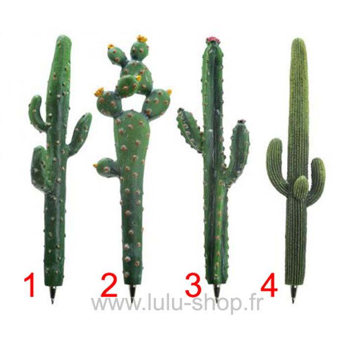 Stylo Cactus lulu shop