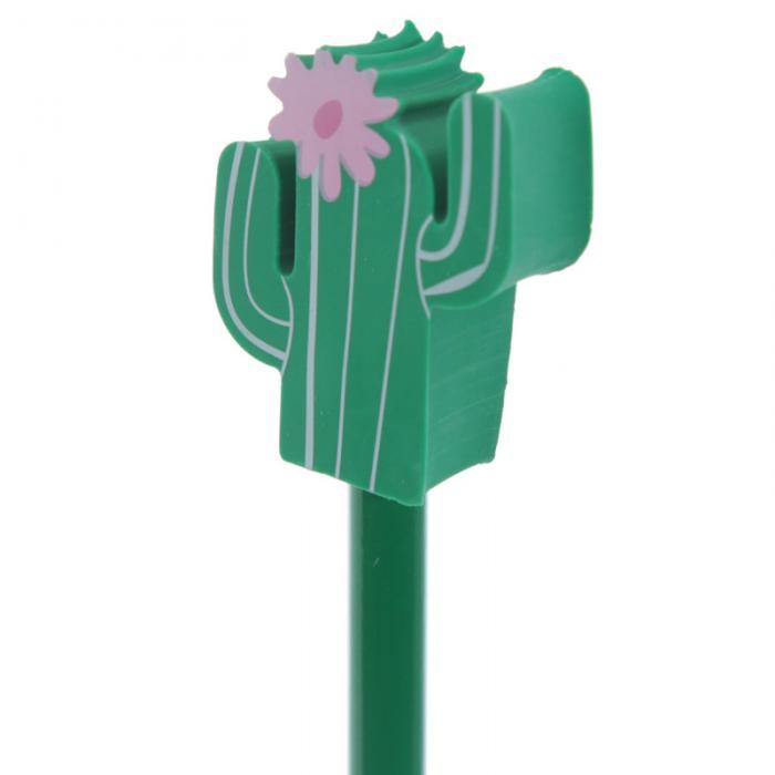 Crayon à papier avec embout gomme cactus lulu shop 2