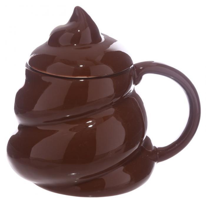 Mug Emotive Poop avec couvercle lulu shop 4