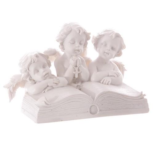 Anges Lisant un Livre avec LED lulu shop 1