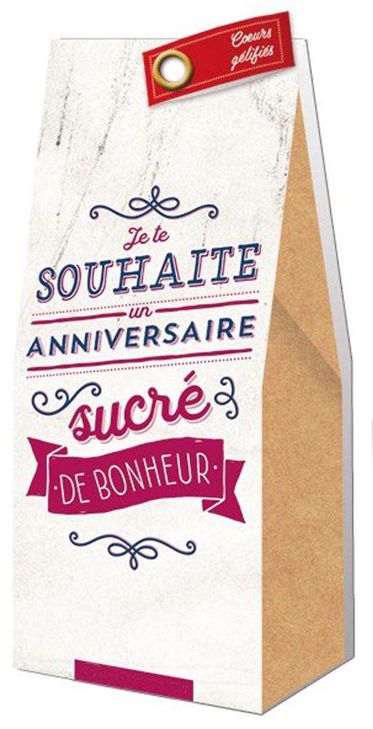 www.lulu-shop.fr Ballotin Cadeau Bonbons Coeurs gélifiés