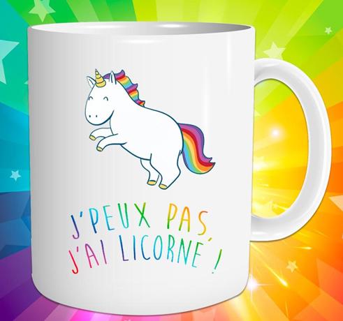 www.lulu-shop.fr Mug Tasse Licorne