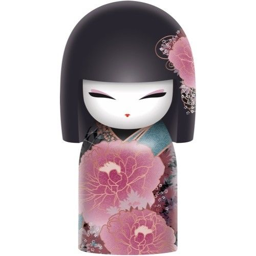 Poupée japonaise kokeshi kimmidoll Haruko Croissance lulu Shop
