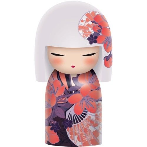 Poupée japonaise kokeshi Kimmidoll Aki Compréhension 6cm lulu shop