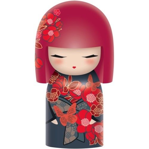 Poupée japonaise kokeshi Kimmidoll Chou Papillon lulu shop