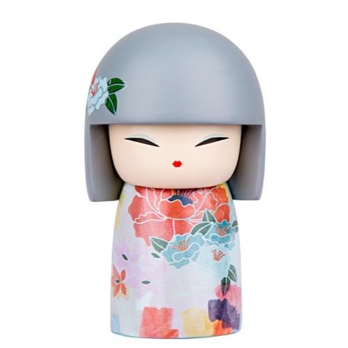Poupée japonaise kokeshi Kimmidoll Tsukie Confiance lulu shop