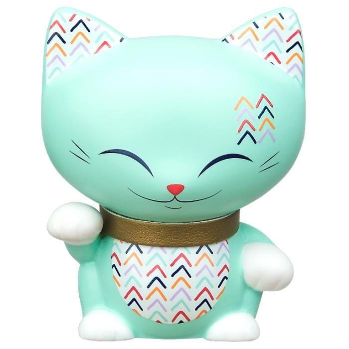 Figurine Chat porte bonheur Mani the lucky cat N68 lulu shop