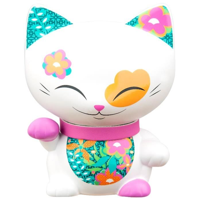 Figurine Chat porte bonheur Mani the lucky cat N67 lulu shop
