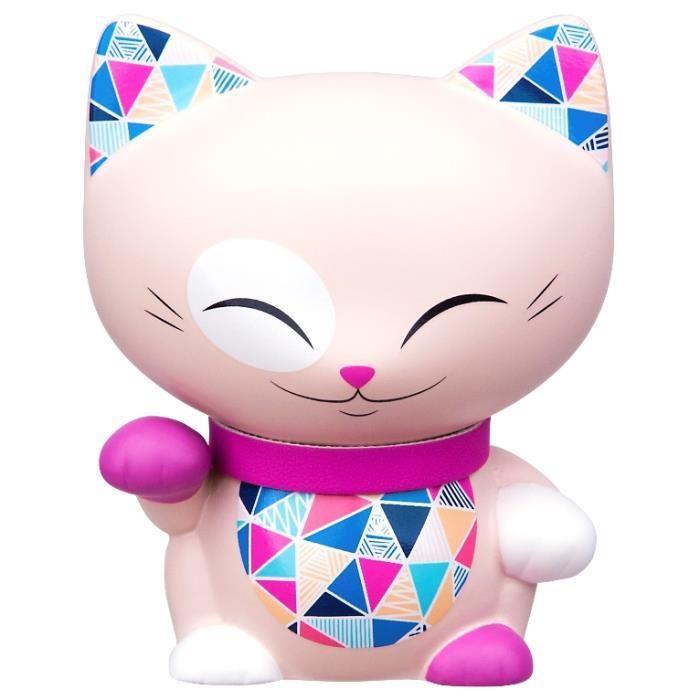 Figurine Chat porte bonheur Mani the lucky cat N71 lulu shop