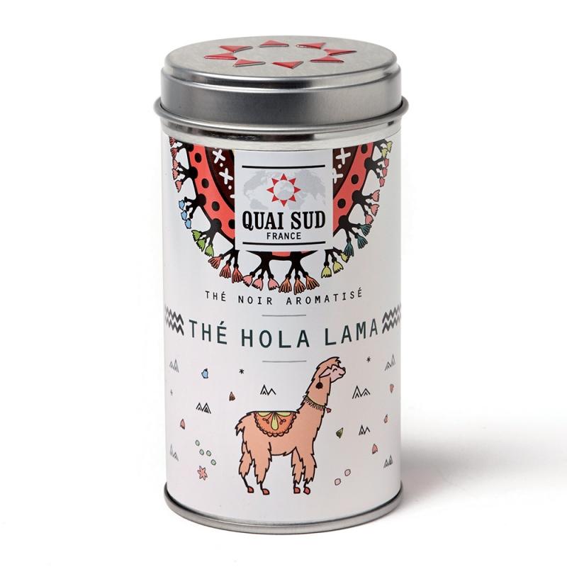 Thé Noir Hola Lama aromatisé coquelicot lulu shop