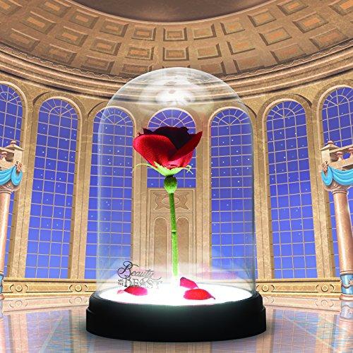 Lampe Rose Enchantée Disney  La Belle et la Bête lulu shop 2