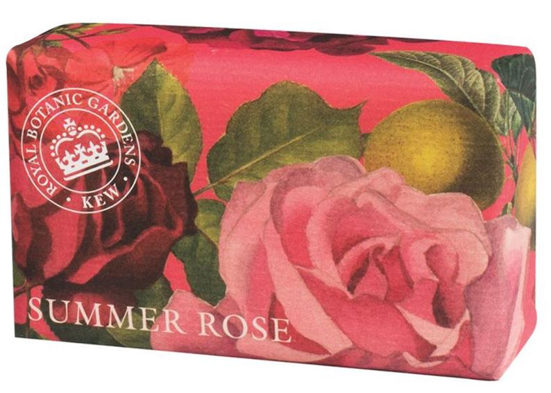 Savon Rose d'été Jardin Botanique lulu shop