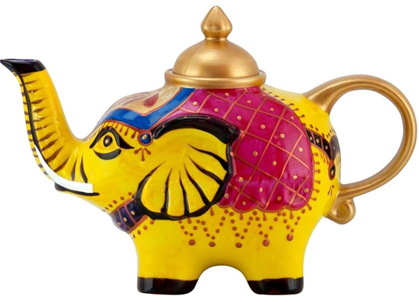 Théière en Porcelaine design éléphant III lulu-shop