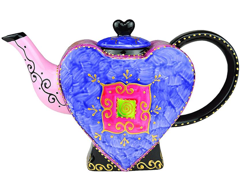 Théière en Porcelaine Design Coeur II lulu shop