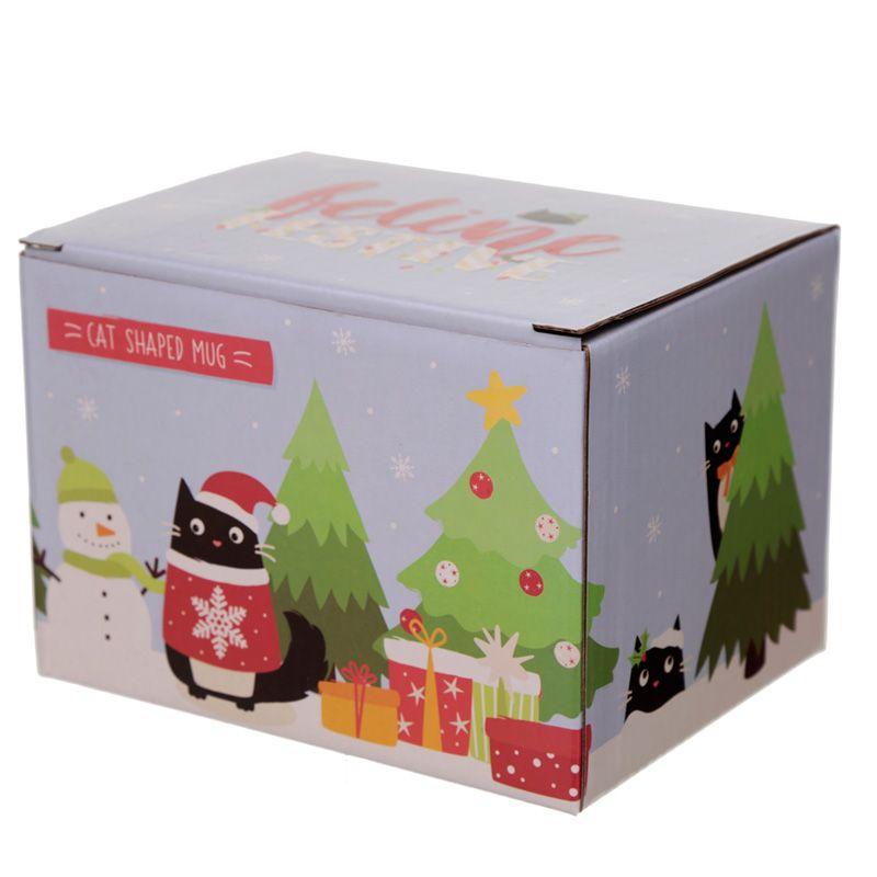 Mug de Noël Festif Chat lulu shop 3