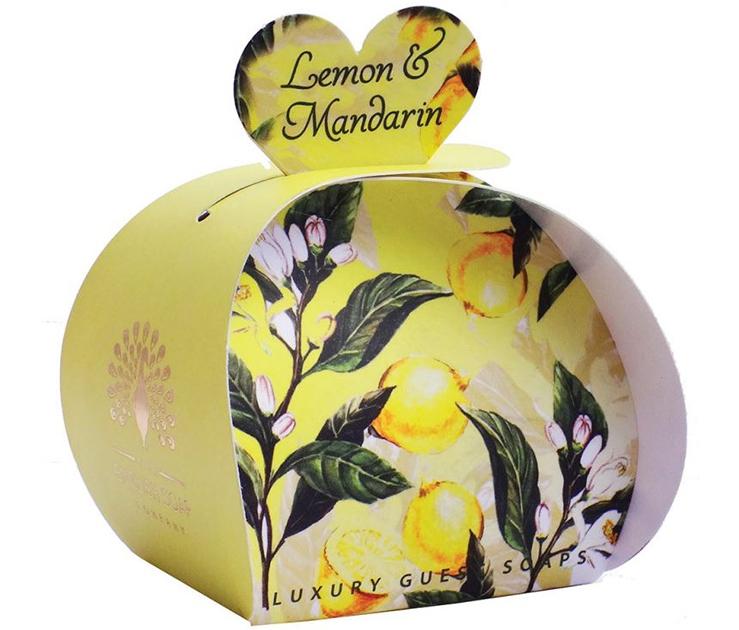 Lulu shop Savon ballotin cadeau d'invité Citron et Mandarine