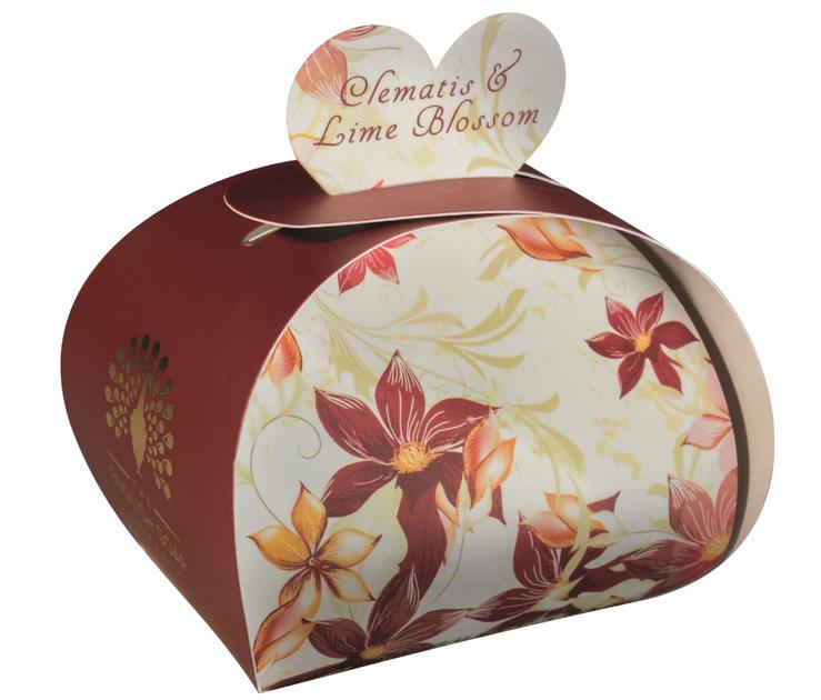 Lulu shop Savon ballotin cadeau d'invité Clématite et Tilleul