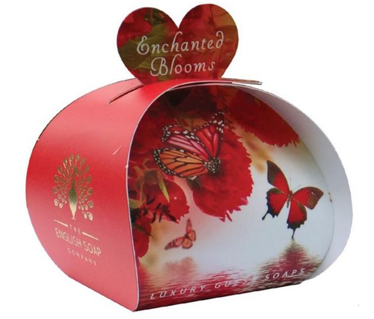 Lulu shop Savon ballotin cadeau d'invité Fleurs enchantées