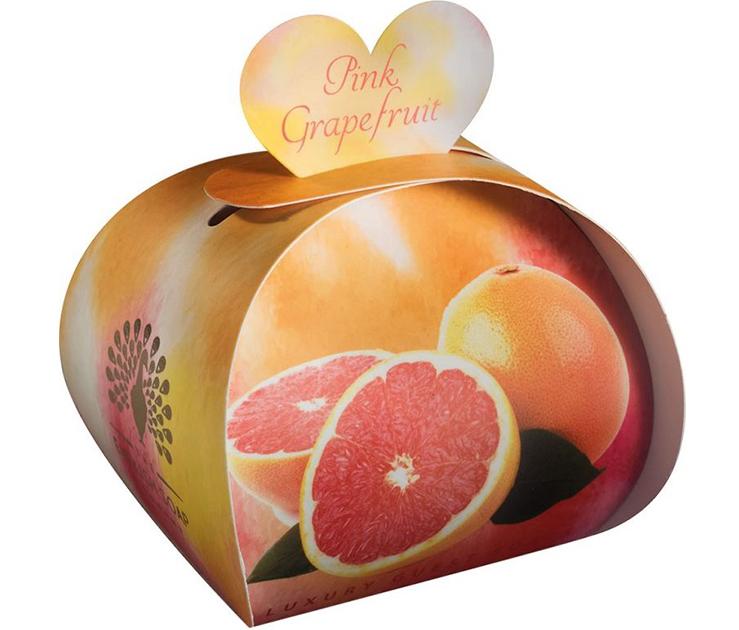 Lulu shop Savon ballotin cadeau d'invité Pamplemousse rose