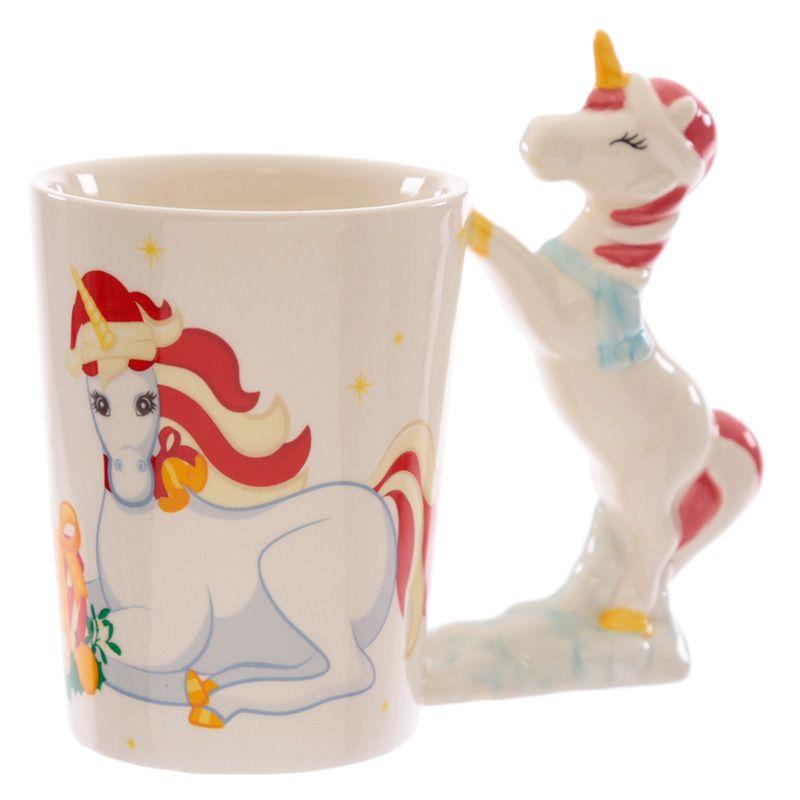 Mug Licorne de Noël lulu shop 2