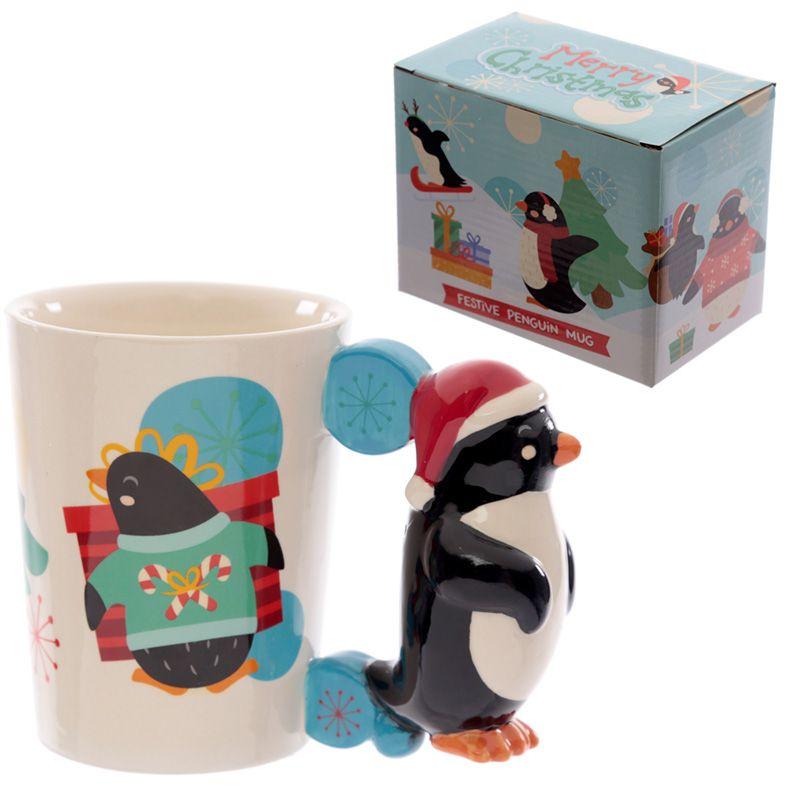Mug Pingouin de Noël lulu shop 4