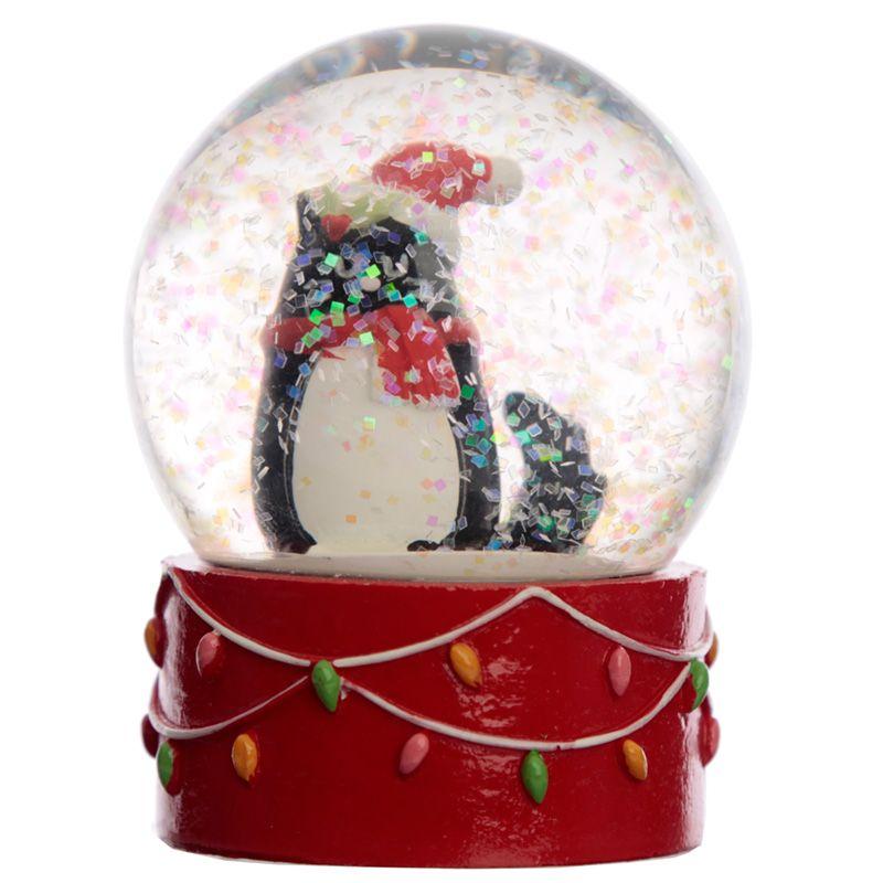 Boule à Neige Chat de Noël lulu shop2