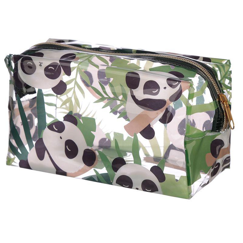 Trousse de Toilette Transparente Panda lulu shop 1