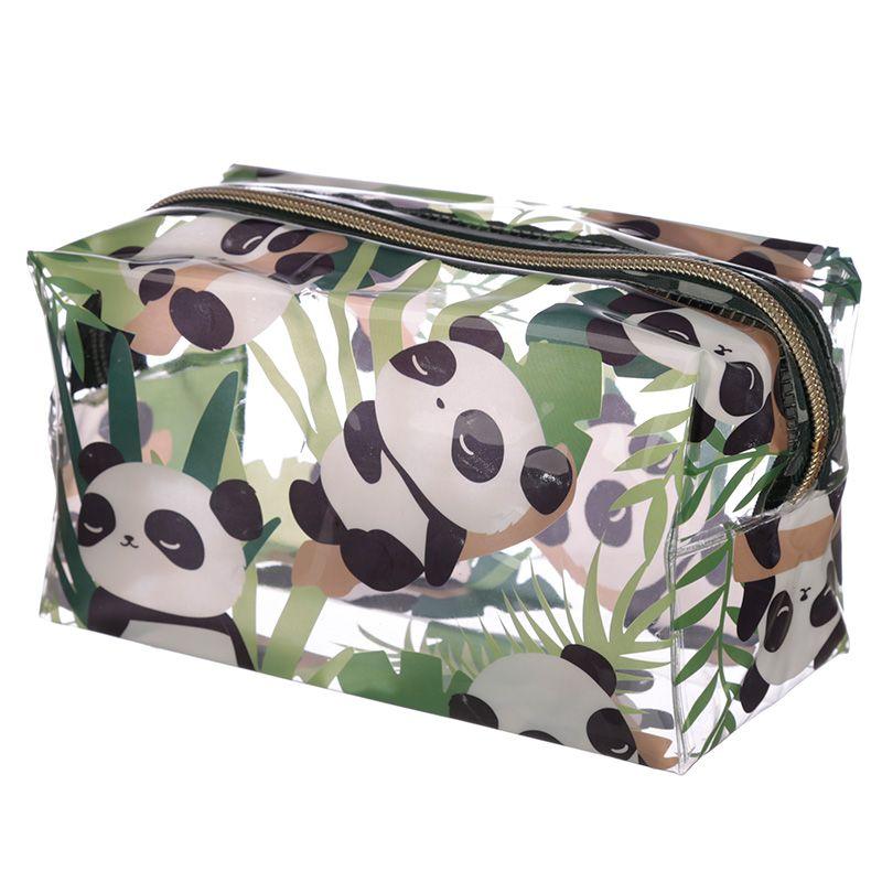 Trousse de Toilette Transparente Panda lulu shop 3