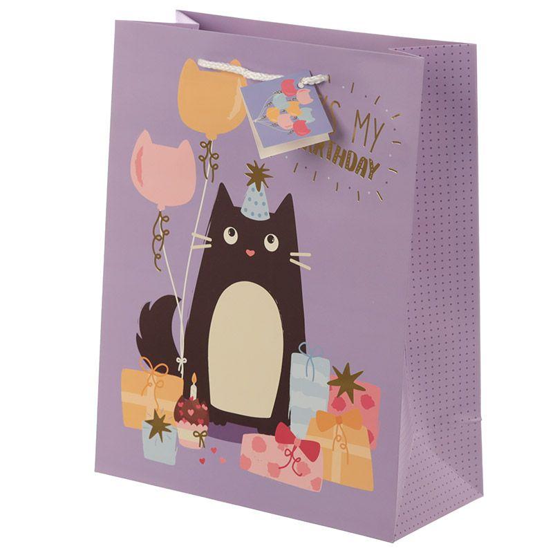 Sac Cadeau Chat - Large lulu shop 1