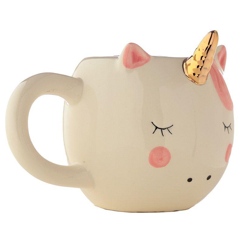 Mug Tête de Licorne Blanc lulu shop 4