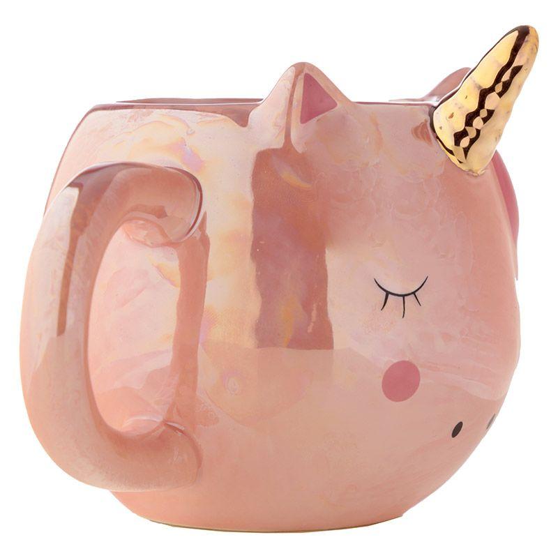 Mug Tête de Licorne Rose lulu shop 2
