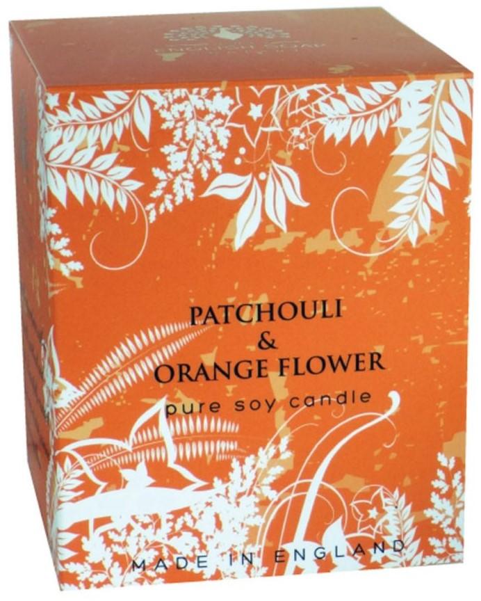 Bougie 35 heures  Patchouli et Fleur d'Oranger lulu  shop