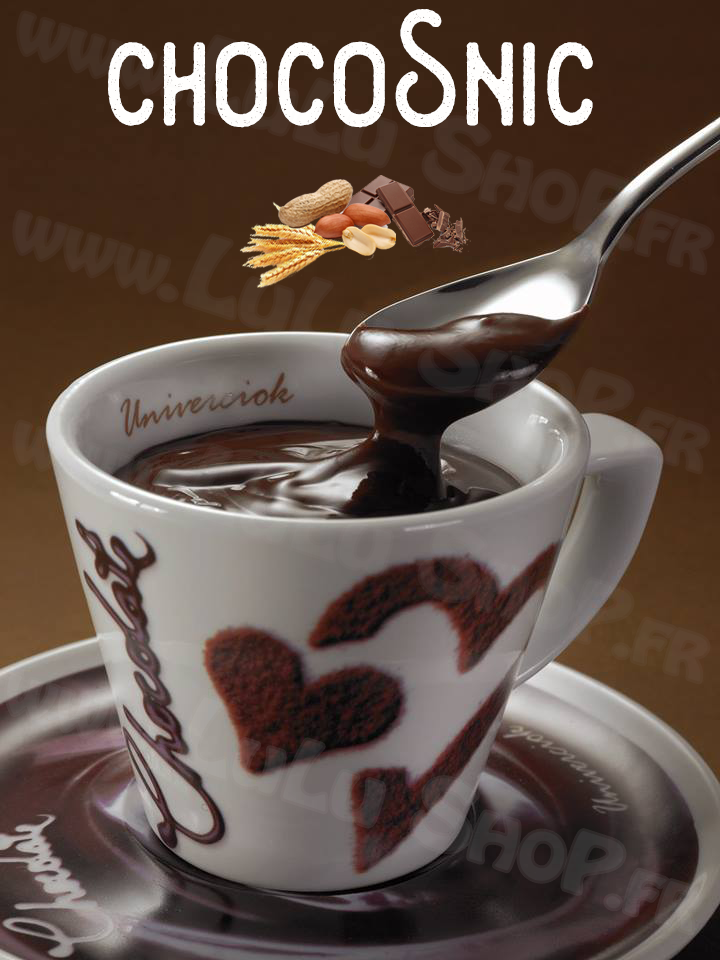 Lulu Shop Chocolat Chaud Italien Univerciok 13 ChocoSnic Chocolat Orge Arachide
