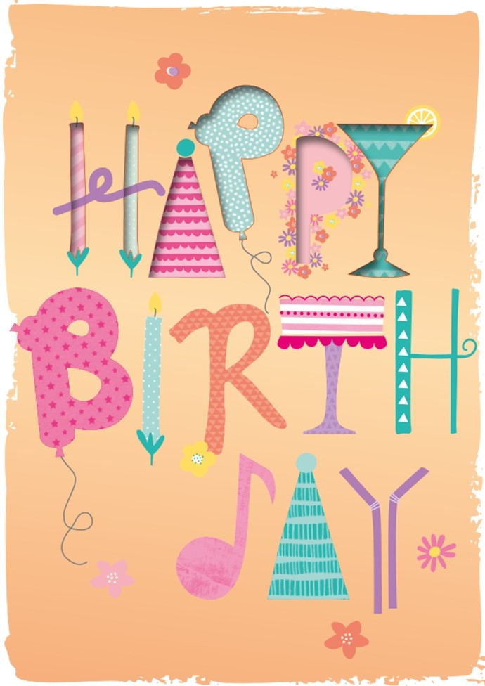 Lulu-Shop.fr Cartes postales musicales Happy Birthday