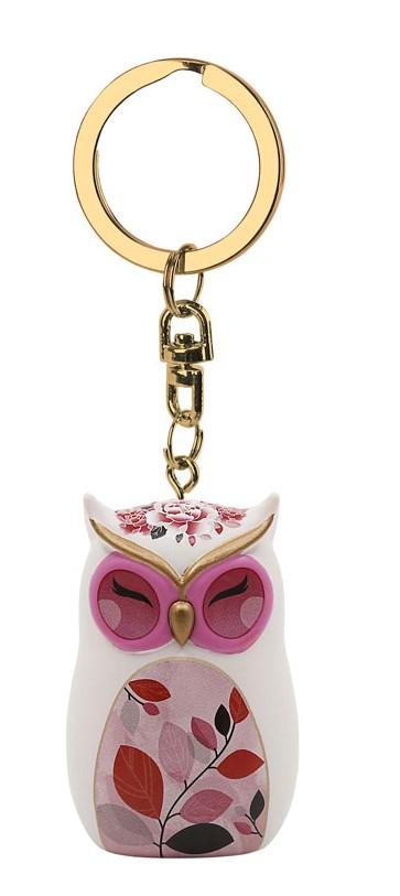 Porte clés Chouette Wise Wings Sagesse lulu shop 1.1