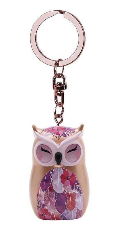 Porte clés Chouette Wise Wings Gratitude Lulu shop 1.1