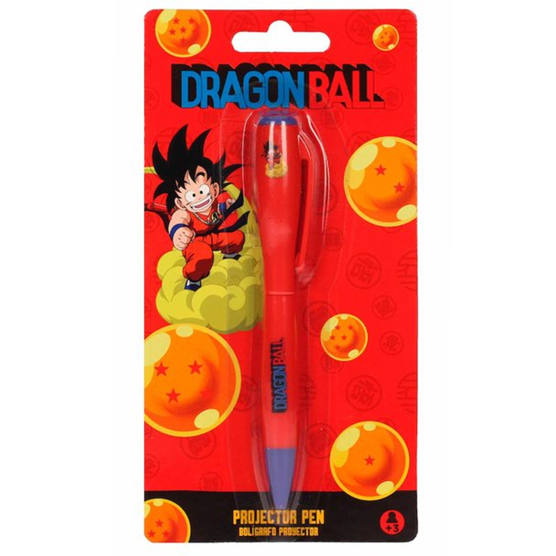 Stylo Dragon Ball Z projecteur de lumière Goku enfant lulu Shop