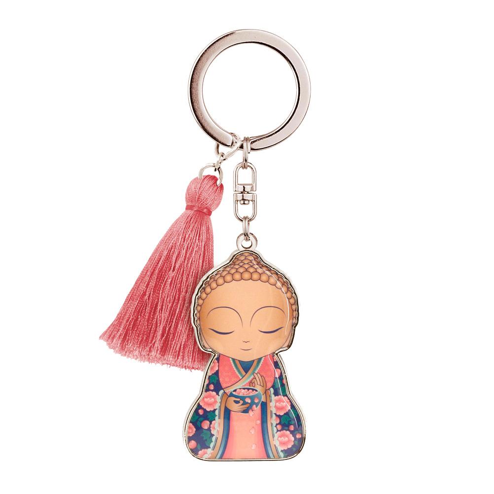 Porte clés Little Buddha Charms Sois attentif lulu shop