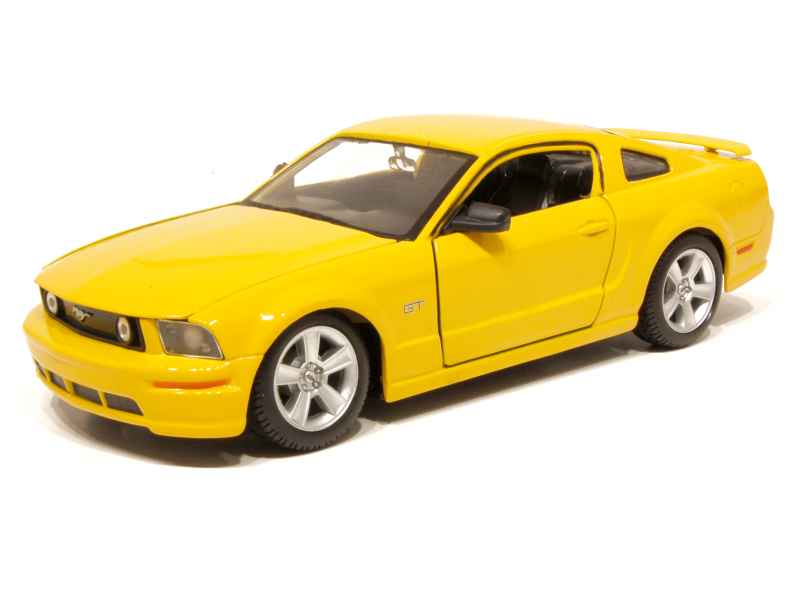 Ford Mustang GT Coupe Jaune 2006 Maisto 1-24 lulu shop