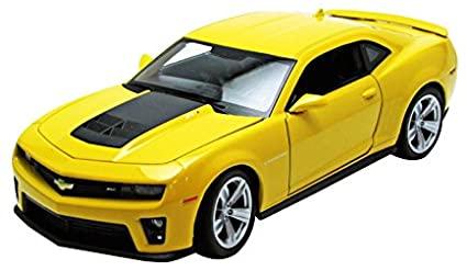 Chevrolet Camaro ZL1 Jaune 2012 Welly 1-24 lulu shop 0