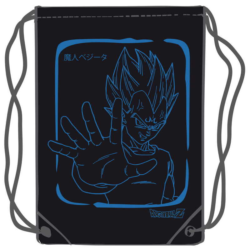 Sac Dragon Ball Z Vegeta gym bag 45cm lulu shop