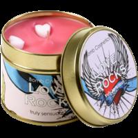 Bougie Art Déco Love Rocks