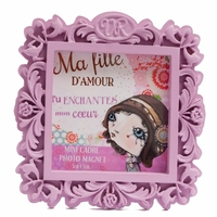 "VERITY ROSE Mini Cadre Photo ""Ma Fille d'Amour"" Miss Flutterby"