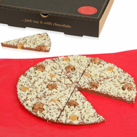 Pizza Chocolat : Croquante & Croustillante