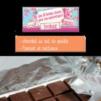 Mini Tablette de Chocolat : Que des Bonnes Choses pour ton Anniversaire...
