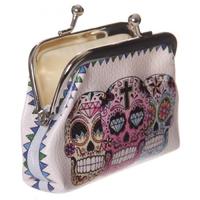 Porte-monnaie - Crânes Jour des Morts mexicain