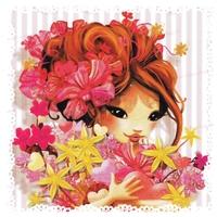 Carte Postale : Un Bouquet de Tendres pensées...